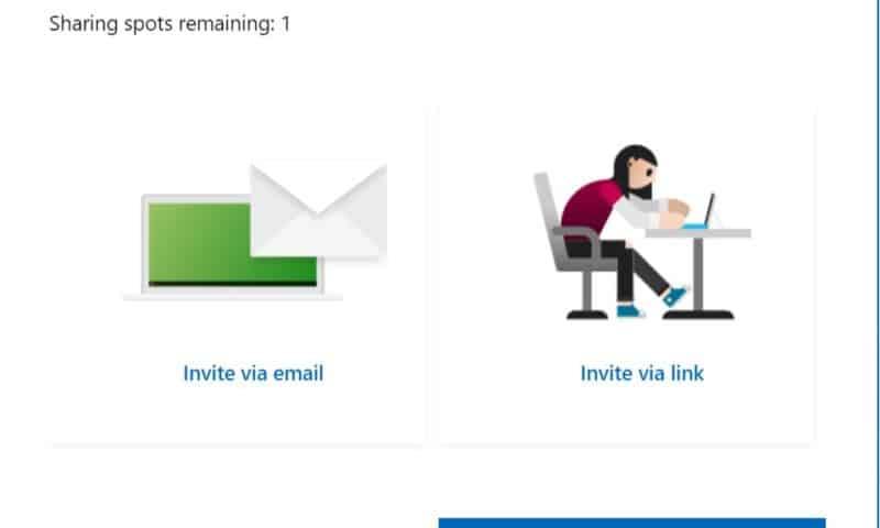 Chia sẻ Office 365 Home cho 5 người thân sử dụng