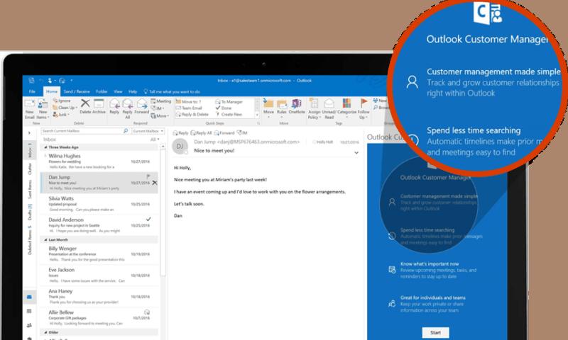 Outlook Customer Manager – Giải pháp quản lý khách hàng hiệu quả
