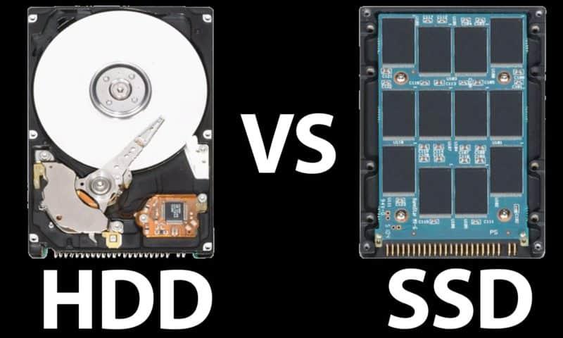 So sánh ổ SSD với HDD: Bạn đã biết?