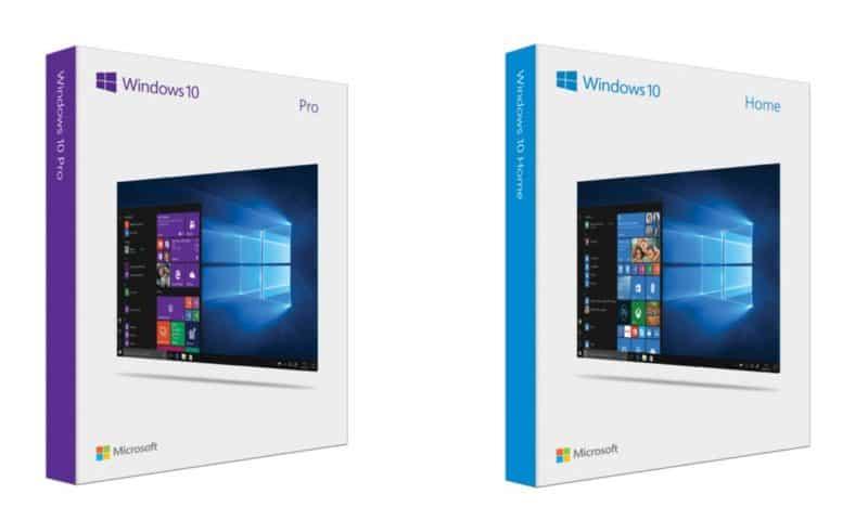 So sánh Windows 10 Home với Windows 10 Pro, Windows 10 Single Language (SL)