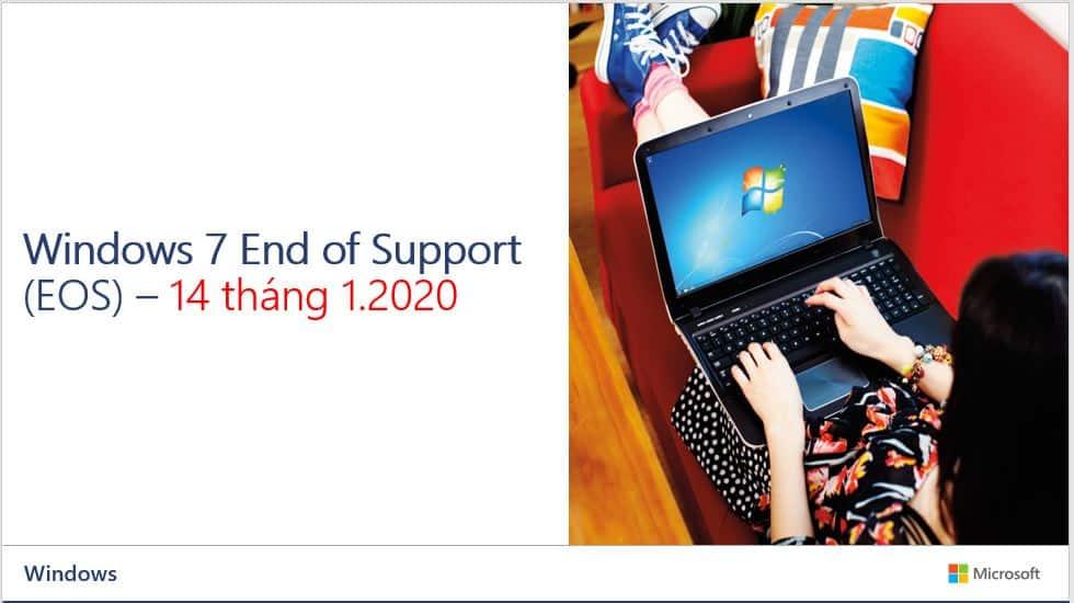 Windows 7 ngừng hỗ trợ