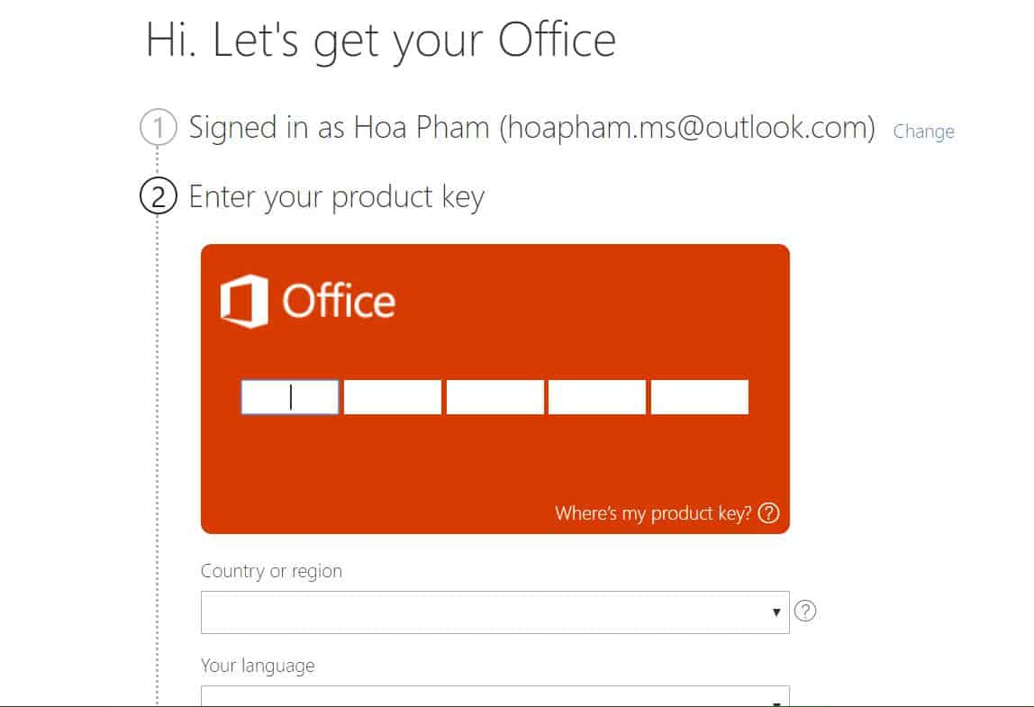 Gia hạn Office 365