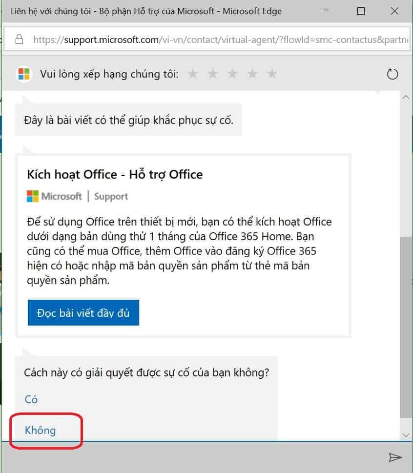 Microsoft Hotline