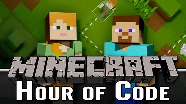 Trẻ học lập trình qua Minecraft Hour of Code