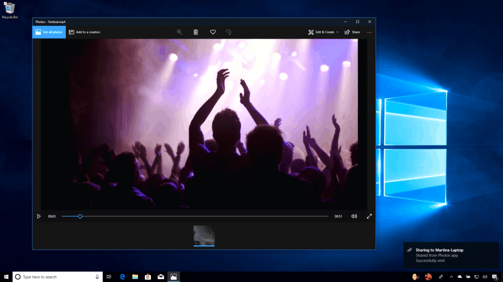 Nearby Sharing - Chia sẻ gần trên Windows 10