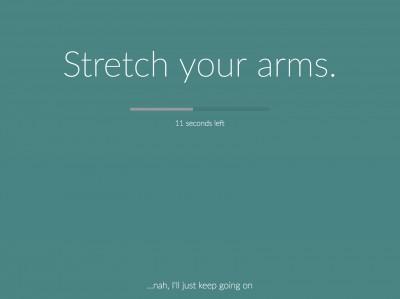 Stretchly - ứng dụng giúp bạn bảo vệ sức khỏe khi ngồi máy tính