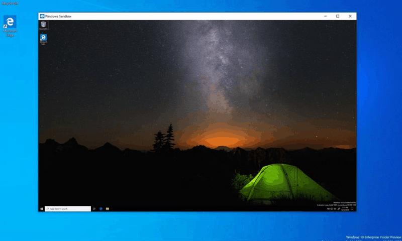 Cài đặt Windows Sandbox trên Windows 10