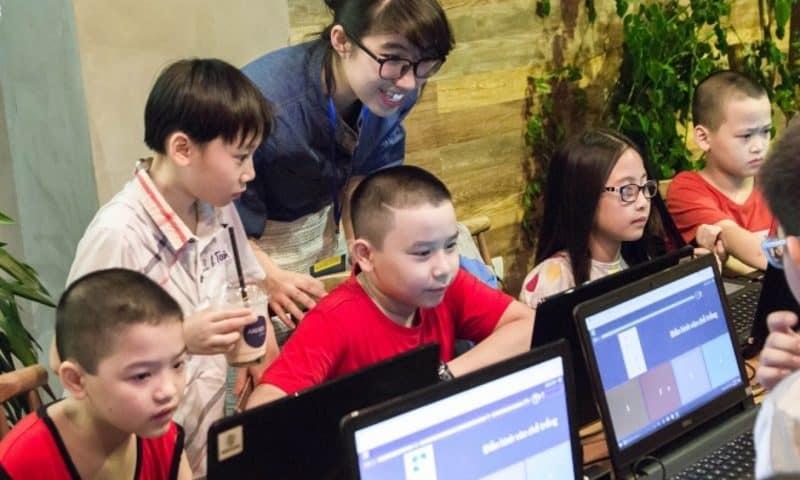 Dạy trẻ lập trình qua công cụ hỗ trợ từ Microsoft