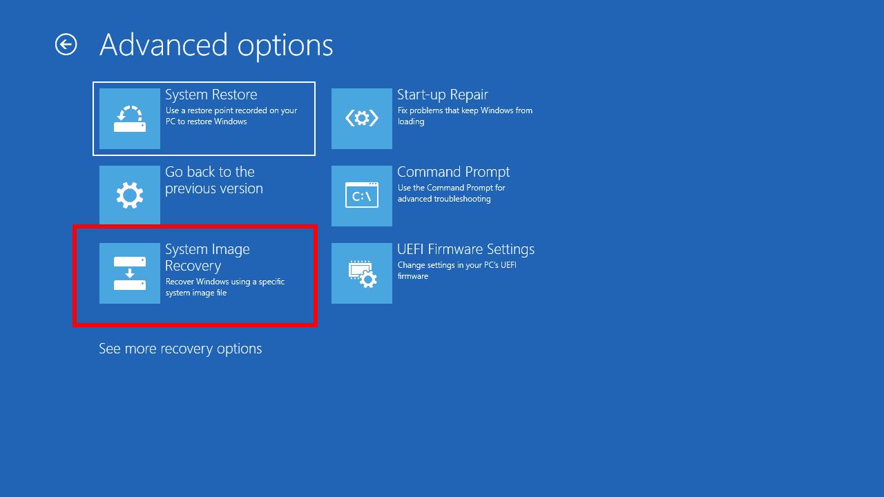 Khôi phục Windows khi bị lỗi