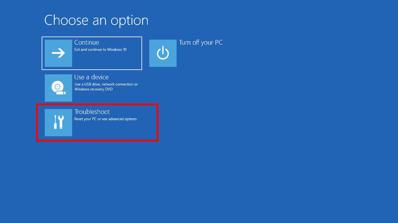 khôi phục Windows