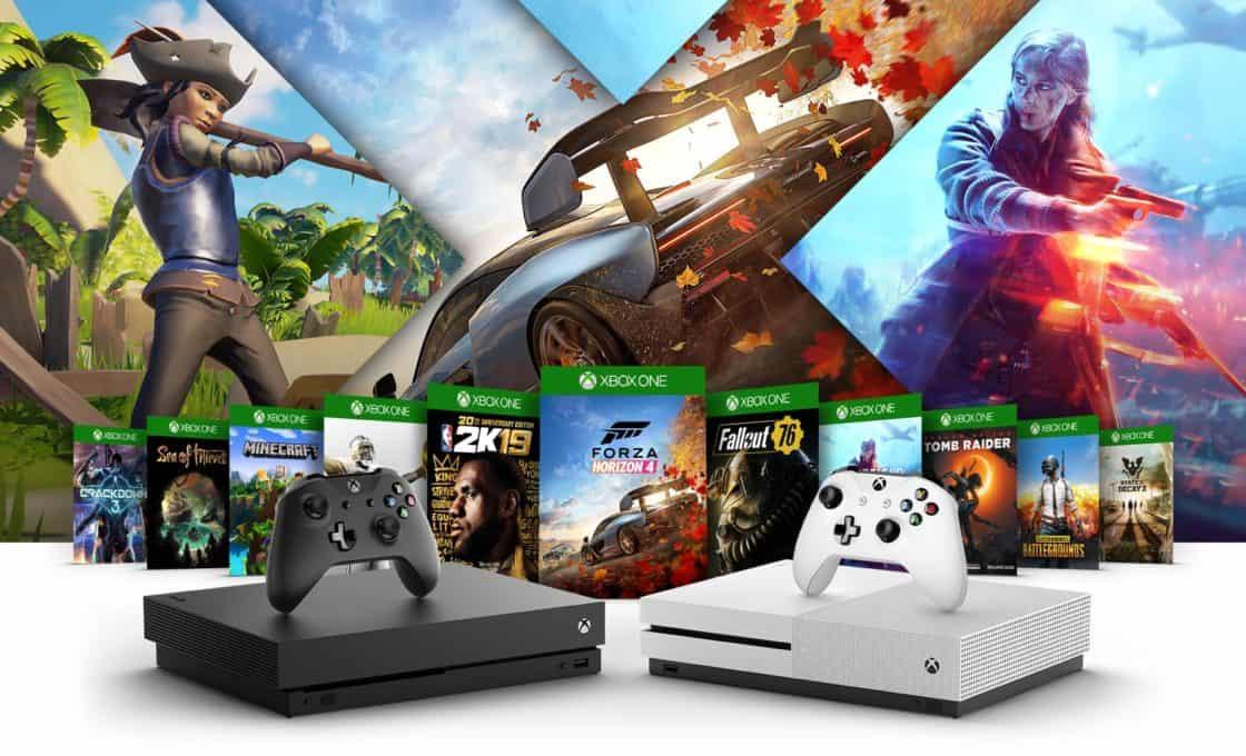 So sánh Xbox One S với Xbox One X