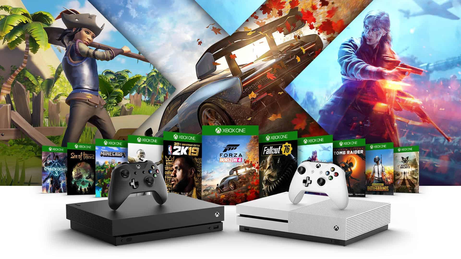 Chơi game Xbox One cùng Console