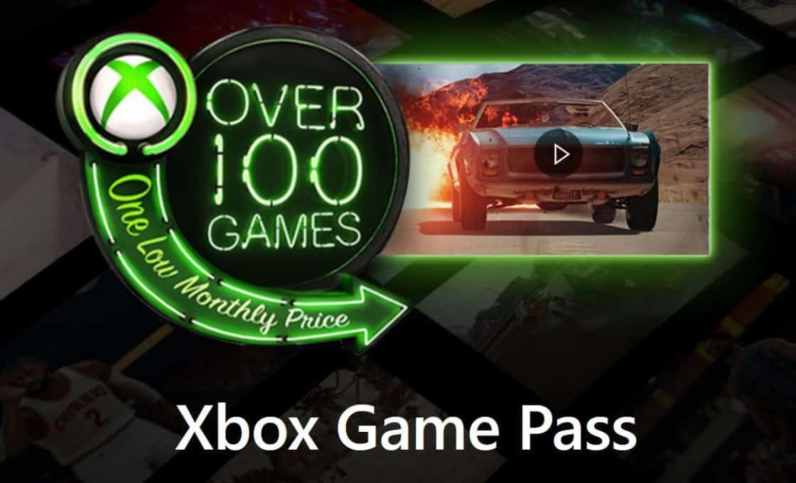 Xbox Game Pass với trên 100 Game