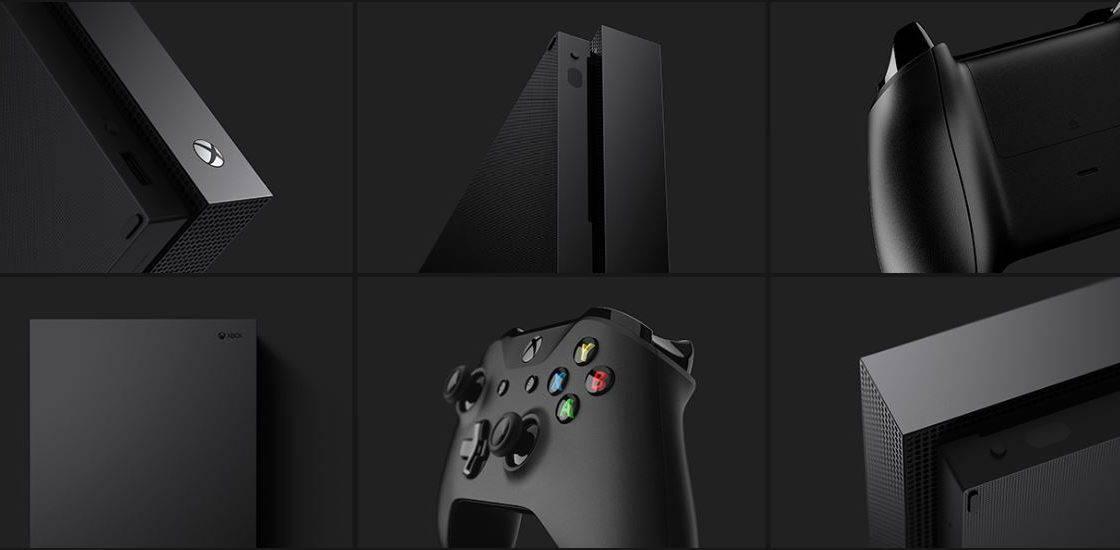 Xbox One X - thiết kế tuyệt vời