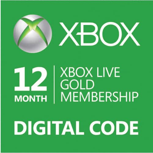 Thẻ Xbox Live Gold