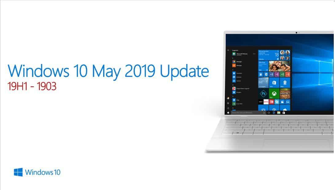 Bản Windows 10 1903 Microsoft giới thiệu vào tháng 5.2019