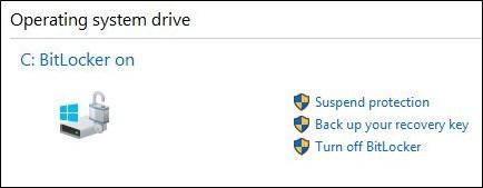 Vô hiệu hóa dịch vụ BitLocker
