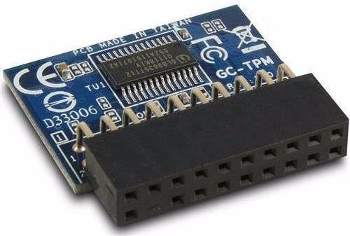 Chip TPM được hàn trên bo mạch chủ thiết bị
