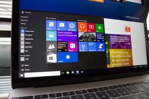 Cài Windows 10 trên Macbook