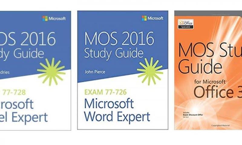 Tài liệu luyện thi MOS 2016- Study Guide Excel Expert 2016 & Word Expert 2016