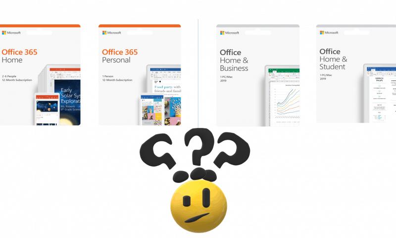 Microsoft Office-Phiên bản nào dành cho bạn?