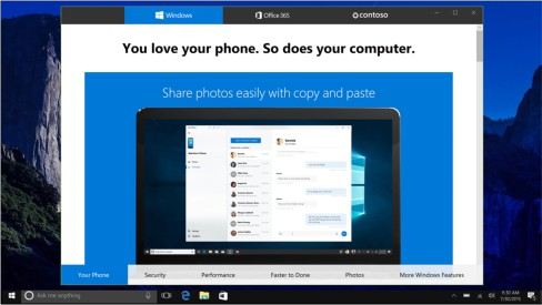 Phần mềm Demo có sẵn trên Windows 10 - RDX