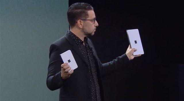 Microsoft Surface 2019 mới. Surface màn hình kép tối đa cho di động!