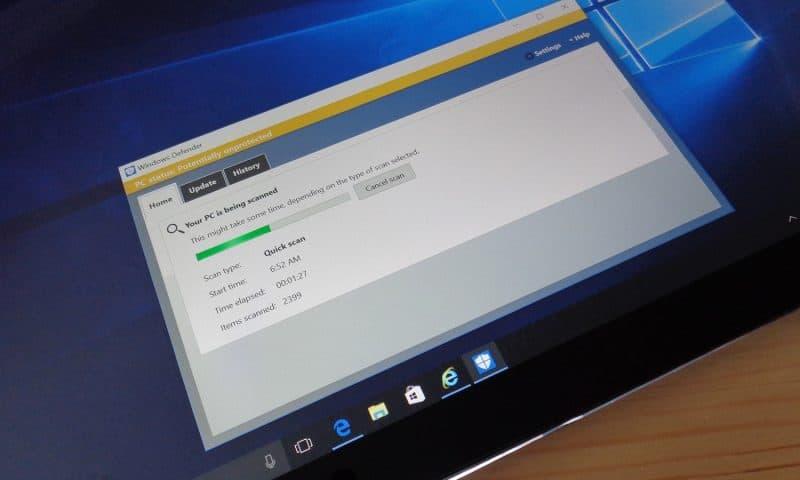 Windows Security-Diệt virus miễn phí trên Windows 10
