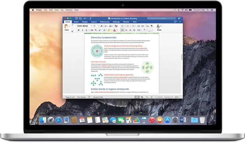 Cài đặt ngôn ngữ Office trên máy Mac