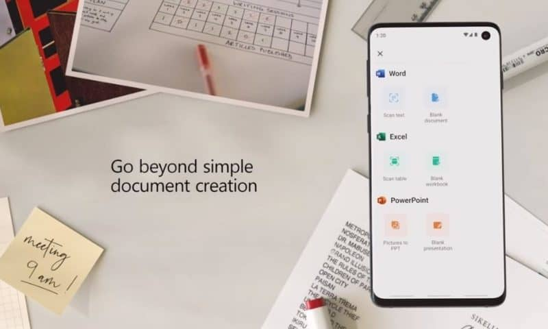 Microsoft giới thiệu ứng dụng Office riêng cho mobile