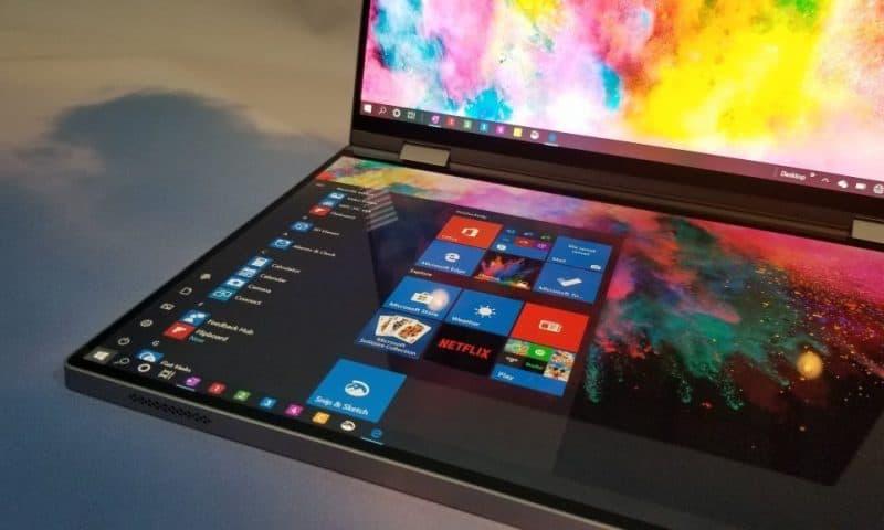 Trên tay Dell Concept Duet – Laptop 2 màn hình