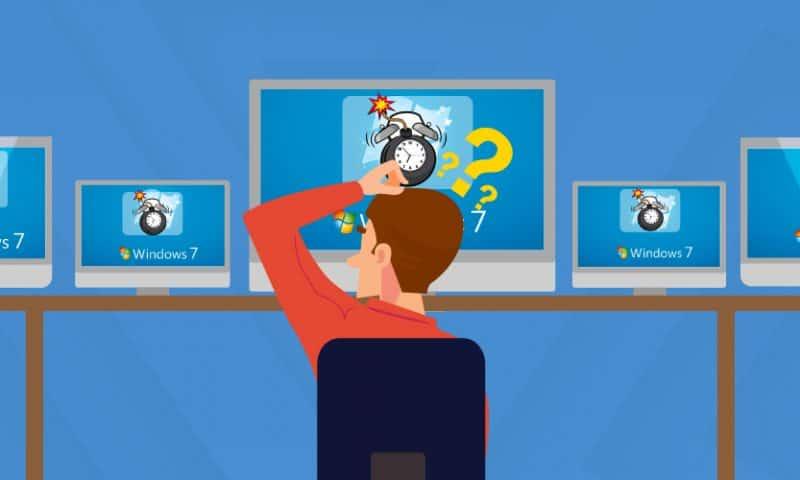 Rủi ro cho người dùng Windows 7 sau 14.1.2020?