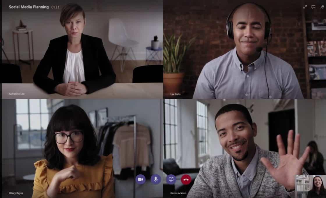 Sử dụng Microsoft Teams