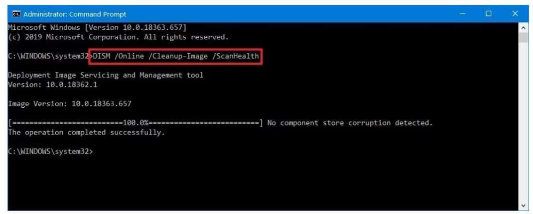 Sửa lỗi Windows 10