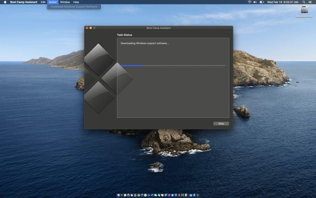 Cài Windows trên Mac