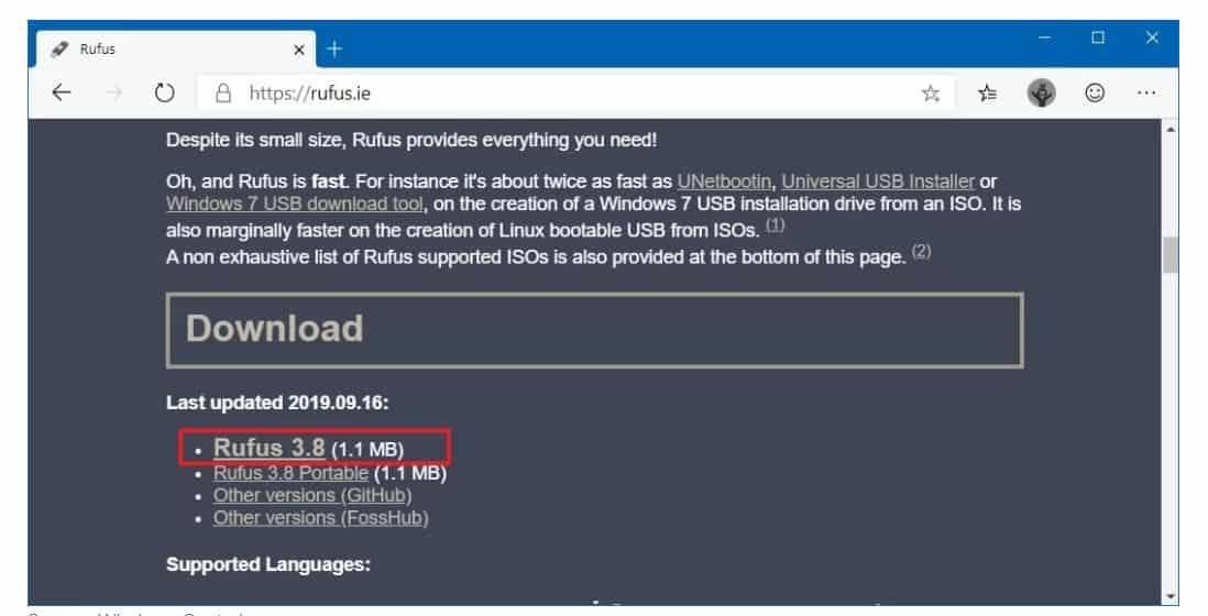 Cài đặt Windows 10