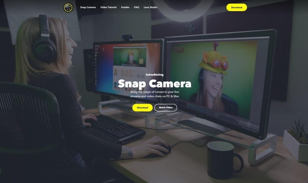 Tải Snapchat Camera