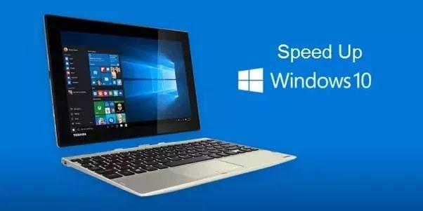 Thủ thuật tăng tốc máy tính Windows 10 (P1)