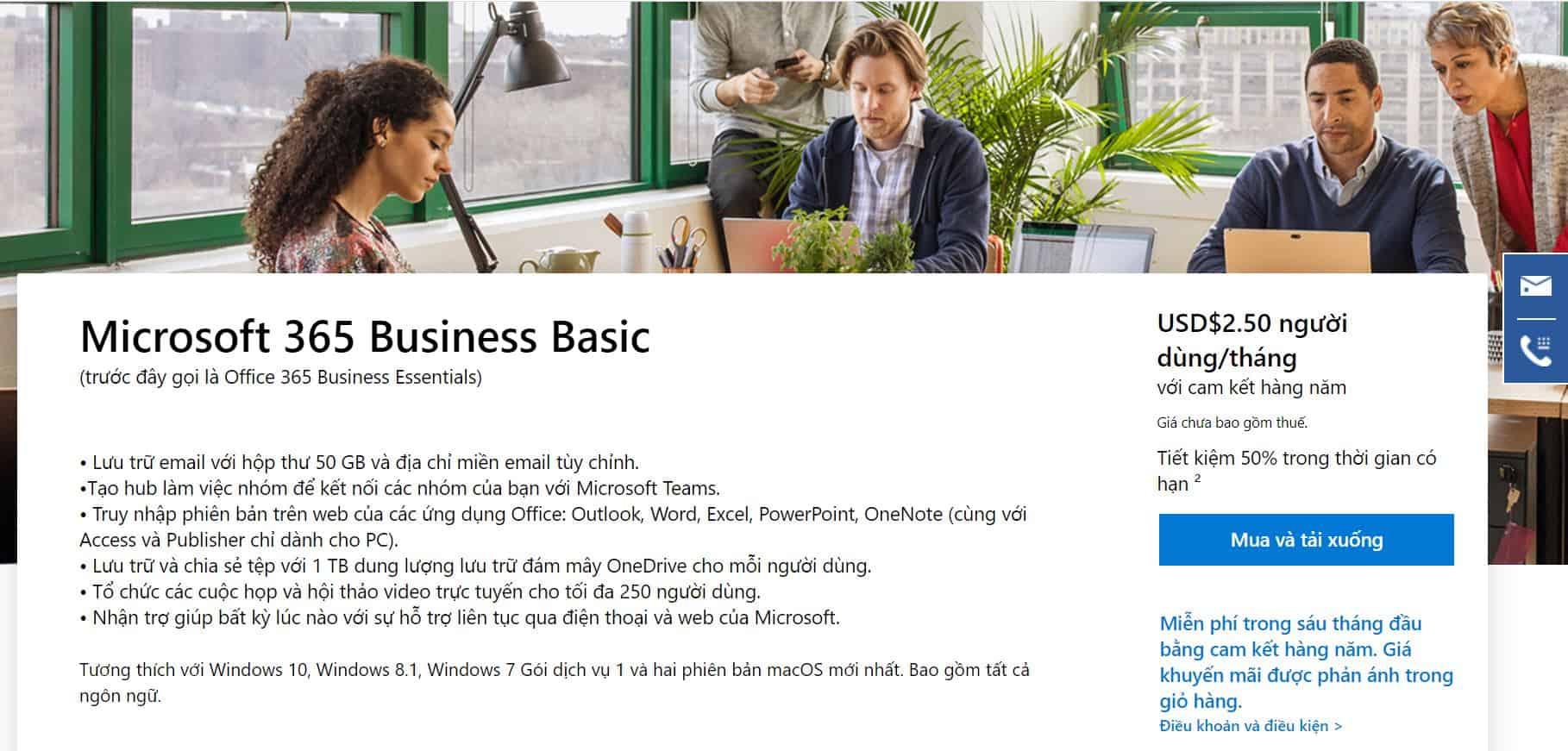 Microsoft 365 Business Basic