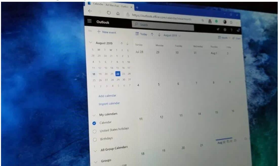 Outlook trên Microsoft 365