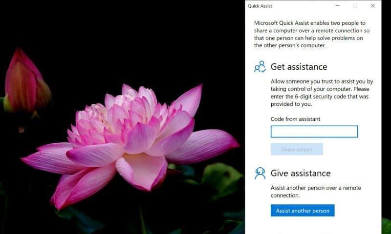 Quên Teamviewer đi, bạn có Quick Assist sẵn có trên Windows 10
