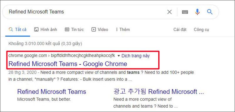 Refined Microsoft Teams