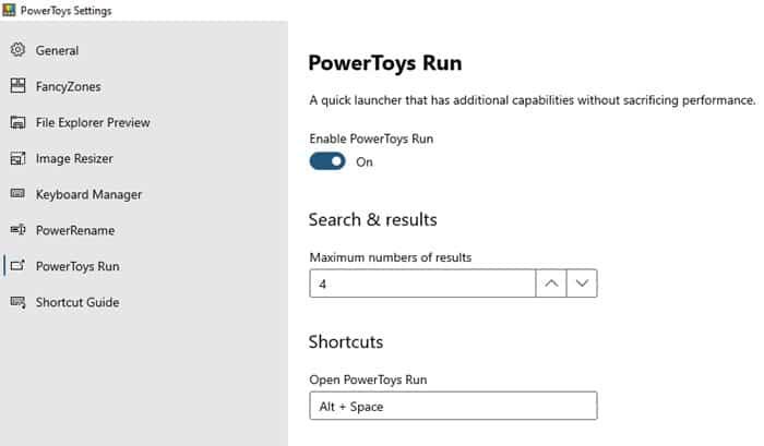 PowerToys Run