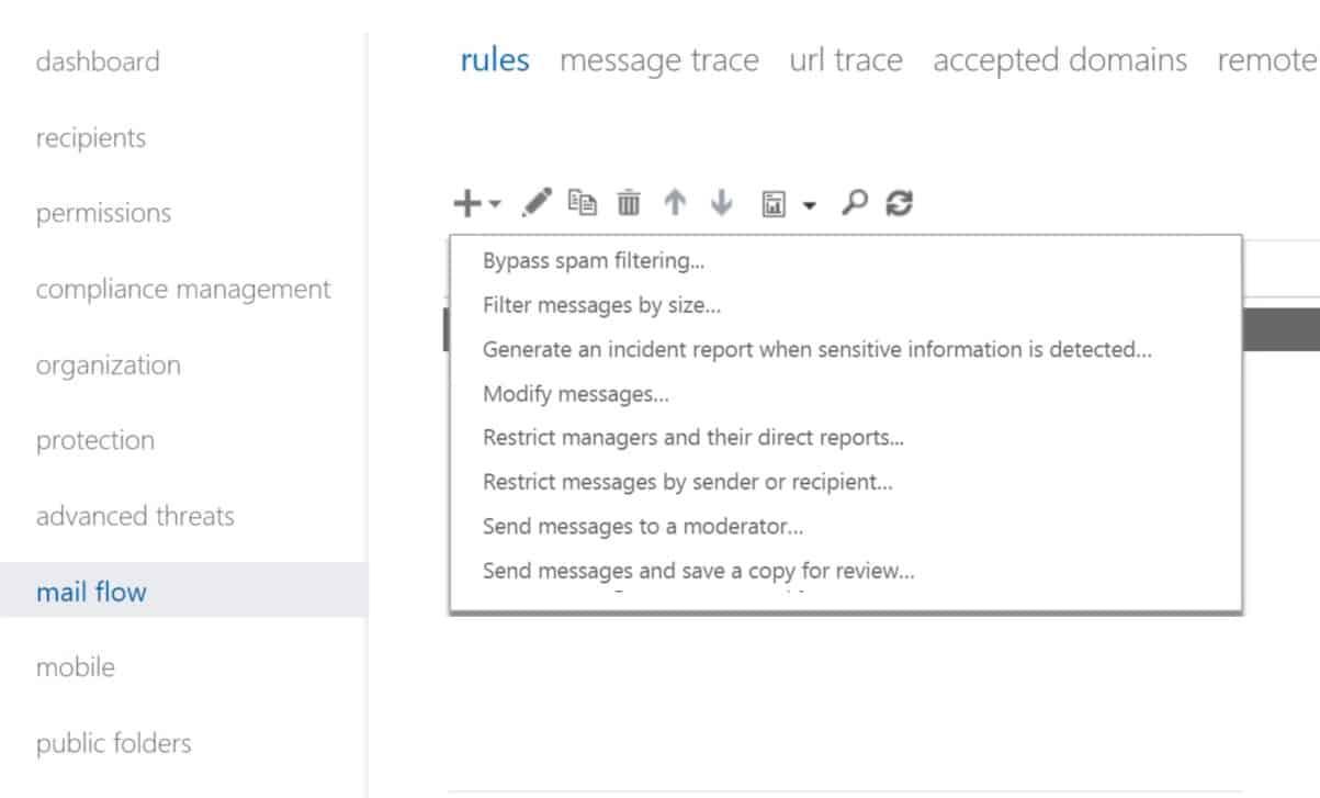 Cài đặt email chặn mã độc Ransomware
