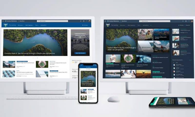 Microsoft giới thiệu trang chủ Sharepoint mới cho tổ chức và doanh nghiệp