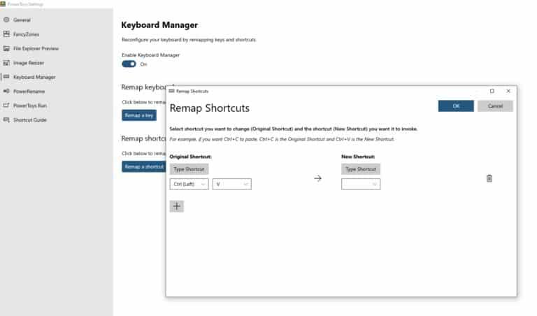 Keyboard manger