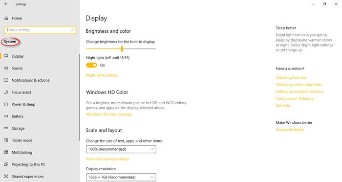 Cài đặt trên Windows 10