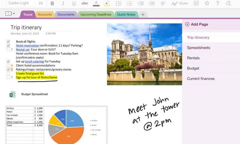 Tải về trọn bộ Ebook rất hay về mẹo sử dụng Onenote từ Microsoft