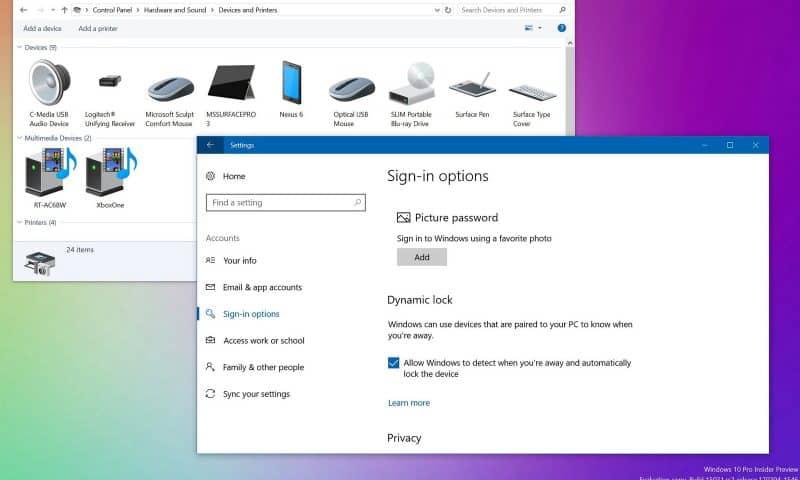 Tự động khóa máy tính Windows 10 với Dynamic Lock