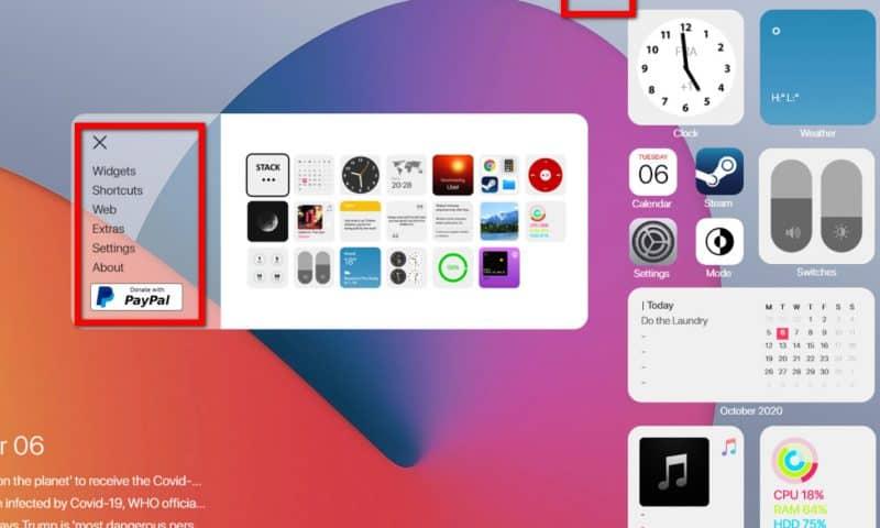 Hướng dẫn để trải nghiệm Widget macOS Big Sur trên Windows 10 bằng Rainmeter